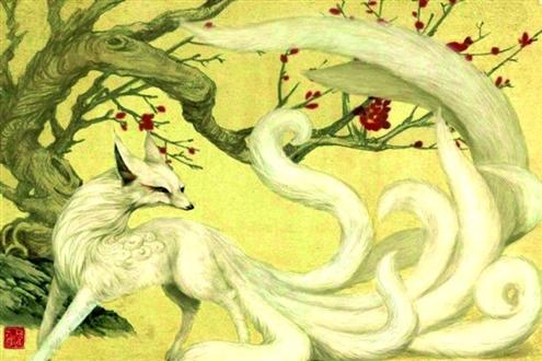 白浅是居住在青丘之国的九尾白狐,典出《山海经》,很多人已经知道了