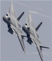 歼-20战机献礼空军成立纪念日