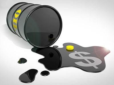 美国西德克萨斯中质油(WTI)期货2018年累计下跌近25%,布伦特原油下跌近20%。