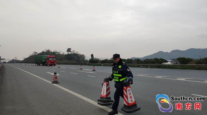 南方网讯 (记者/赵刚 通讯员/沈高)1月3日下昼,广东省高速公路有限公司发布新闻,受寒潮影响封闭的京珠北高速全线解封,恢复平常盛走。