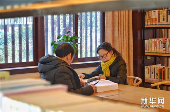 河南洛阳:城市书房让城市充满书香 让阅读成为