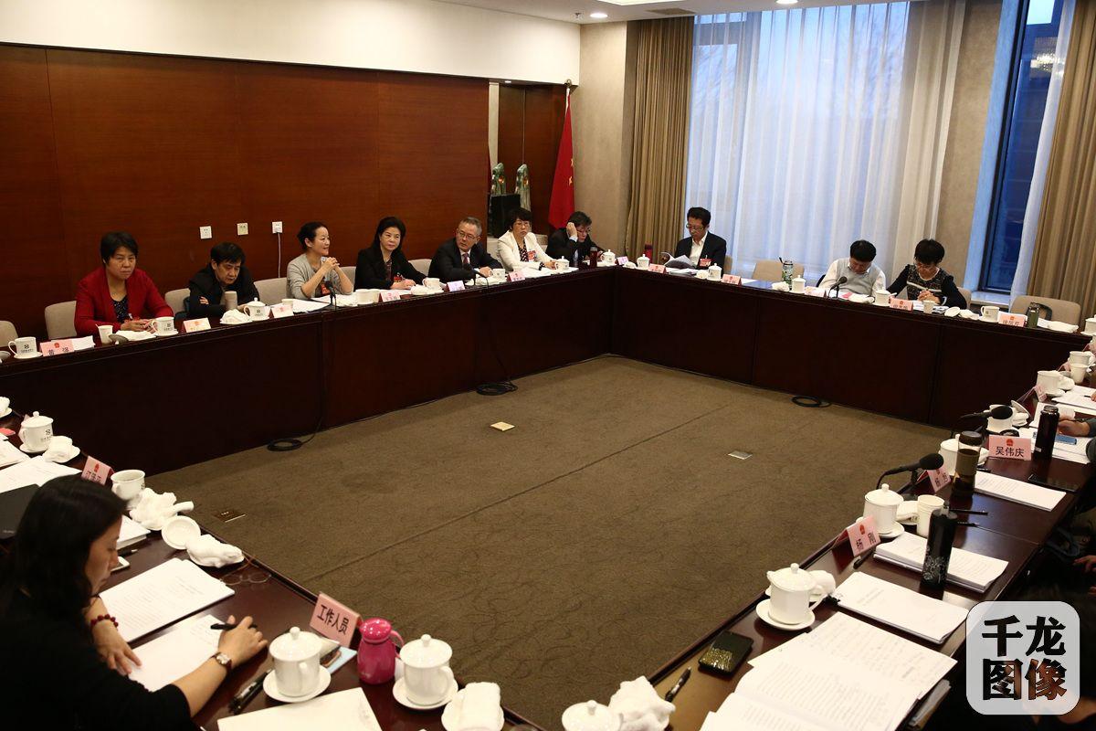 1月15日上午,北京市十五届人大二次会议各代表团审议市人民政府工作报告。图为海淀团小组讨论会现场。万小军摄 千龙网发