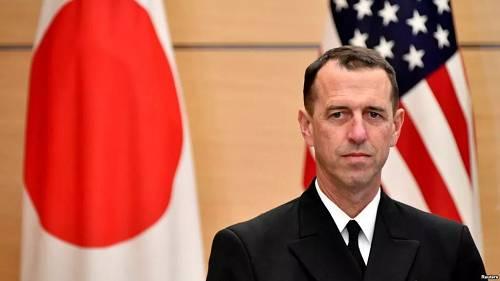 美国海军作战部长理查森材料图(路透社)
