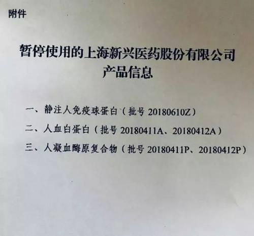 2月6日,一位大夫向21世纪经济报导记者出示了其所收到的停用产品批次关照。