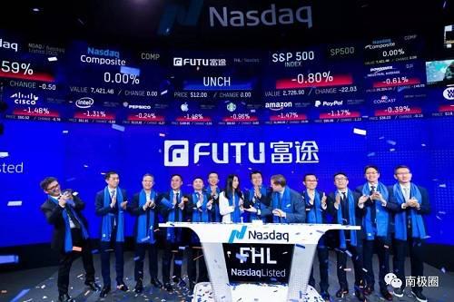 首日暴涨27.67%!互联网券商赴美上市第一股来了,大股东腾讯浮盈近10亿!有望成大牛股?