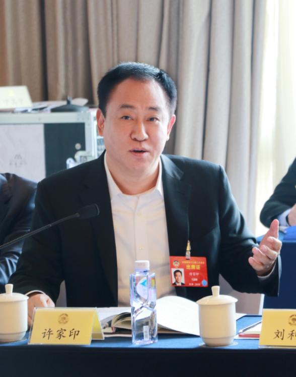 许家印:政协常委会工作报告给每个政协委员指明了新的努力方向