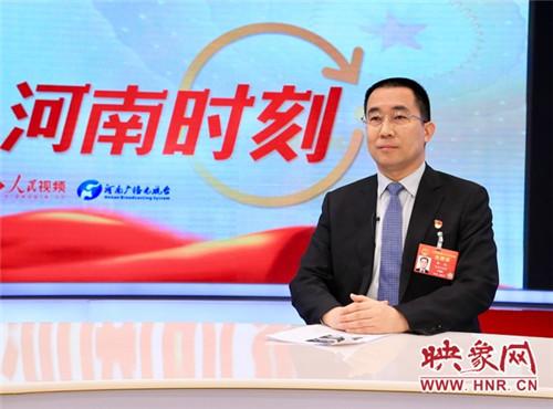 全国人大代表、鹤壁市市长郭浩