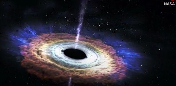拍摄黑洞照片花费5000万美元,科学家说还有白洞,黑洞可帮助星际旅行!