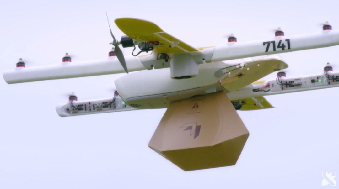 无人机快递之战,谷歌Wing击败亚马逊获无人机配送许可