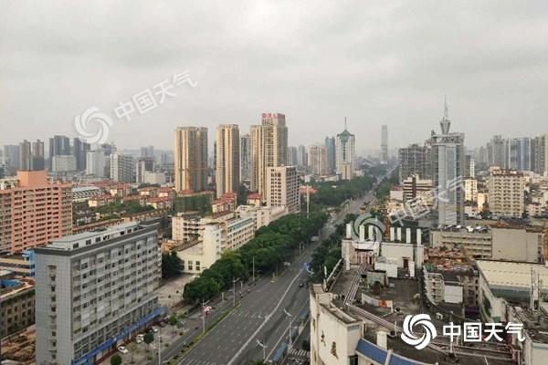 广西今天雨势增强 桂林柳州等地局部有暴雨到大暴雨