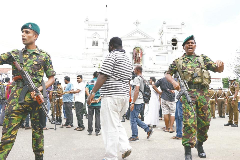 斯里兰卡一天8起爆炸 已致207死470伤两中国人遇难