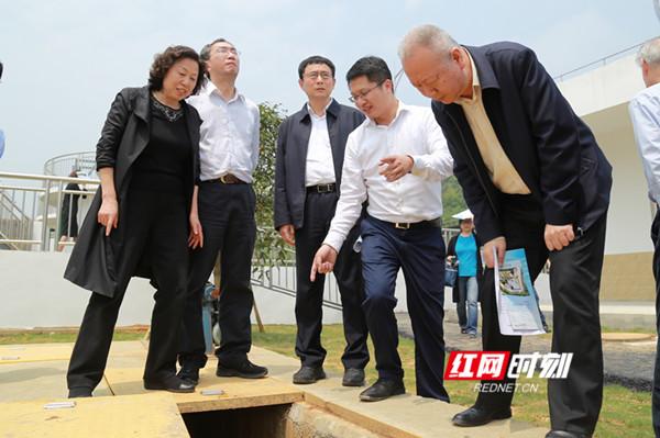 刘莲玉率队在益阳执法检查 用法律武器打好碧水保卫战 ?