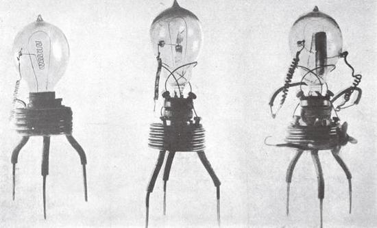 早期的晶体管