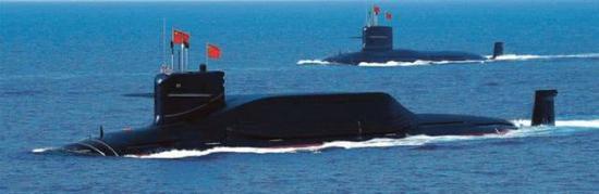 094战略核潜艇对。美胁迫有限