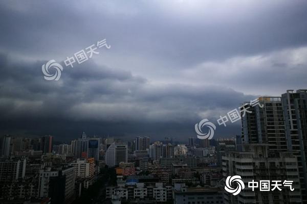 广西提升暴雨应急响应为Ⅱ级 南宁贵港等10市今有暴雨