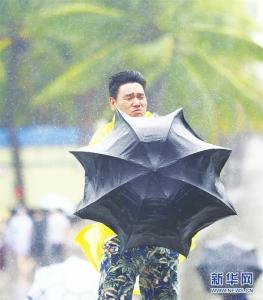 """""""木恩""""开启中国台风季 大数据看台风登陆"""