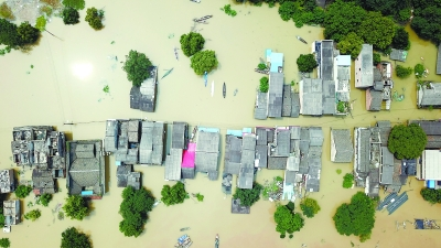 多地河流发生超警洪水