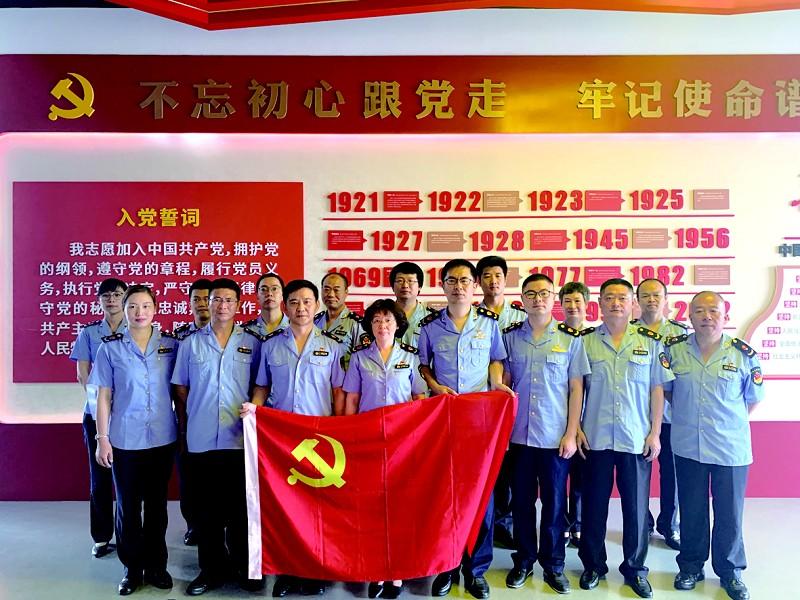 上海平湖与浙江金山开展毗邻党建工作交流机z9刷教程图片