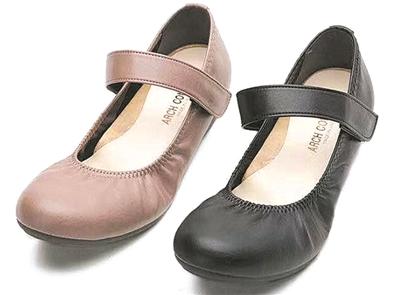 """上脚舒适显腿长 柔软贴脚日本""""奶奶鞋"""""""