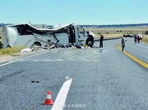 中国旅游团在美遇车祸 4人遇难