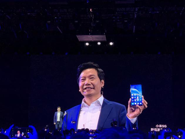 小米推5G環繞屏手機:研發投入超5億 售價19999元