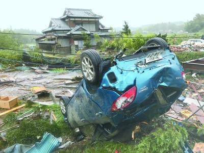 日本千叶突发龙卷风1死5伤