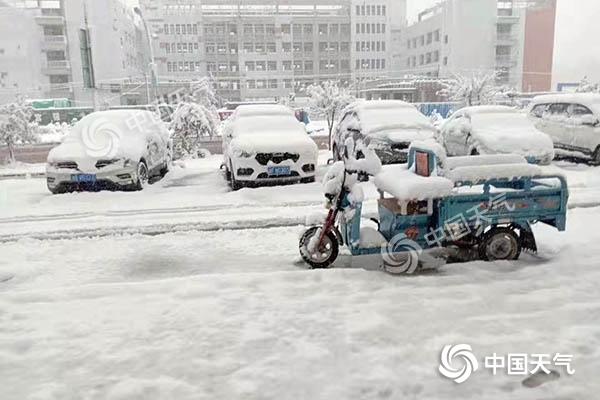 青海海北出现暴雪天气过程  森林草原火险等级有效降低