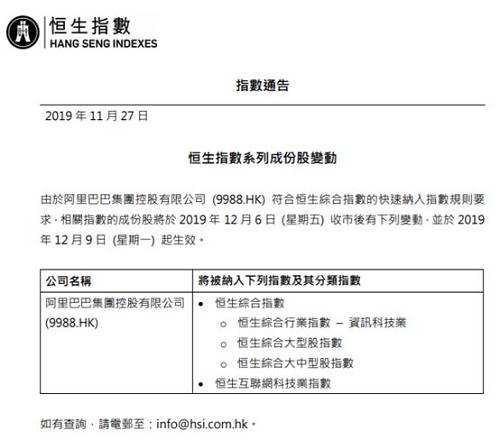 �⒈患{入�a生�C合指�岛�a生互��W科技�I指�担��K于2019年12月9日(星期一)起生效。