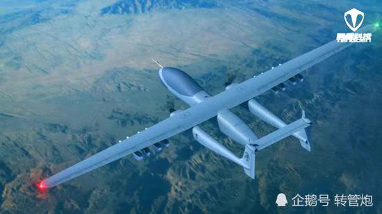 即便在携带同样数目、重量的武器的情况下,TB001作战无人机也能够比现役的吾军无人机进走更长时间的留空作战义务,从而令监控、抨击地面现在的的邃密水平进一步挑高。