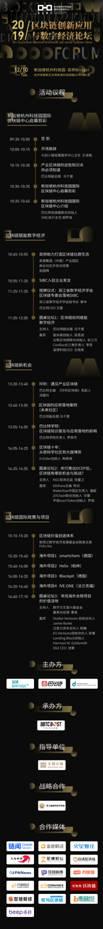 2019数字经济与区块链创新应用高峰论坛落地杭州