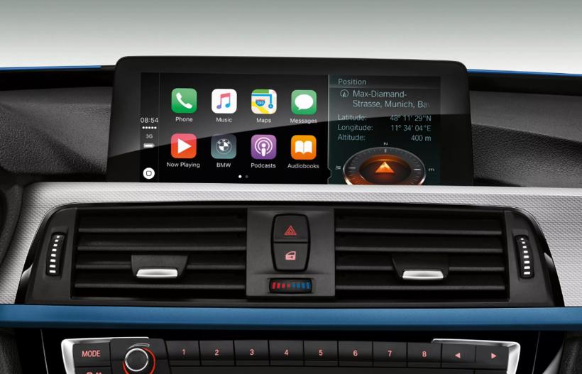 不再需要付费!2019/2020款宝马新车型将免费配备苹果CarPlay