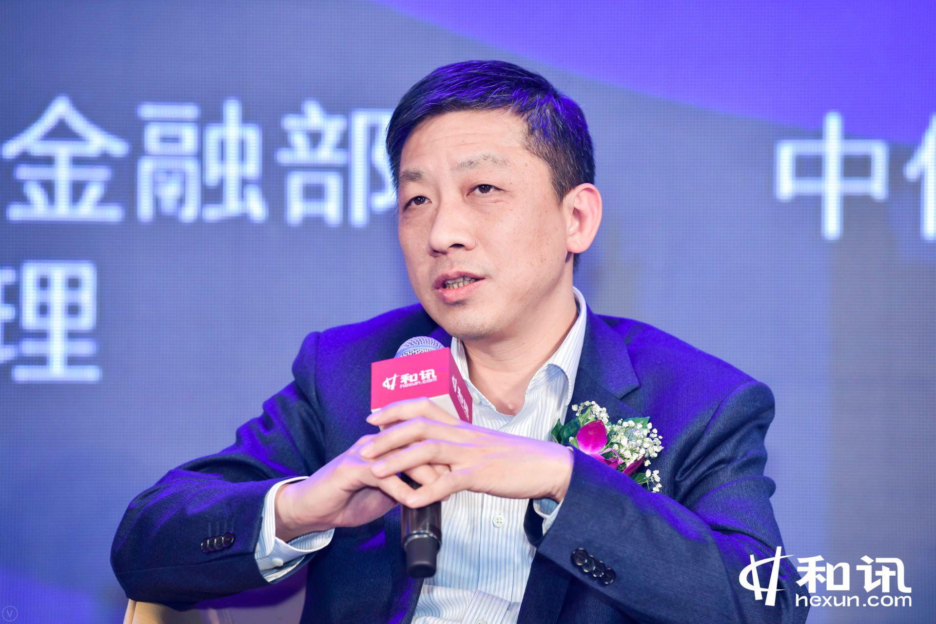 兴业银行网络金融部副总经理黄正建