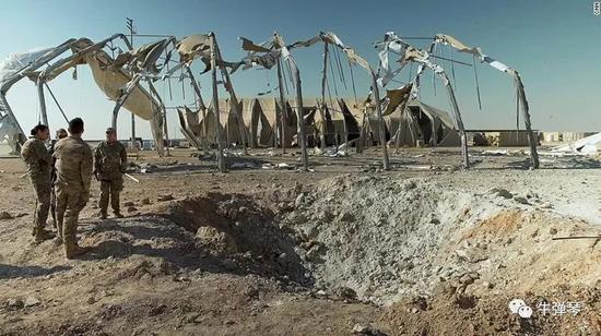 美空军基地被炸照片曝光 透露三个不容忽视的秘密
