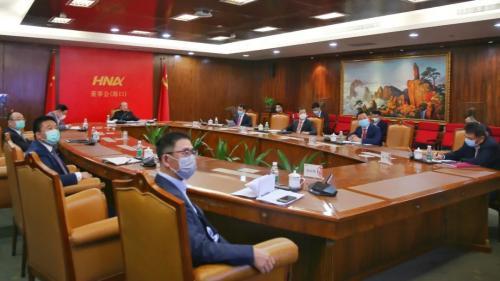 海航董事长陈峰现身抗疫复产大会,要求化解流动性风险