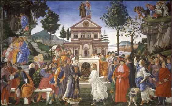 基督的勾引 波挑切利 1483 年