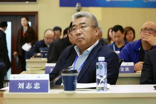 刘志忠在龙马企投家项目课堂上。