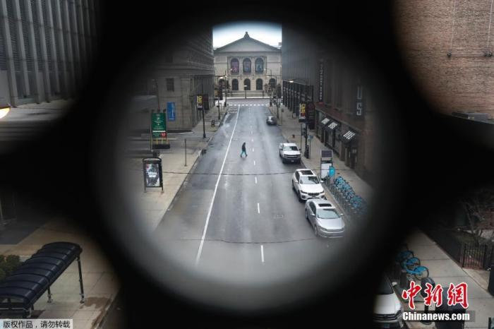 美监狱疫情堪忧 芝加哥一监狱内逾440人确诊感染