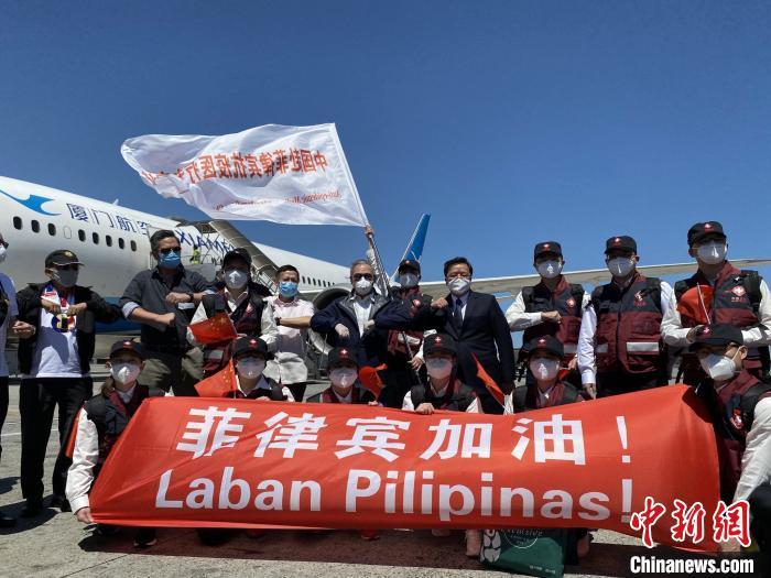 中国医疗专家组以实实在在的行动支援菲律宾抗击疫情