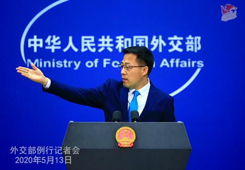 外交部:中国正同加拿大开展疫苗研发合作