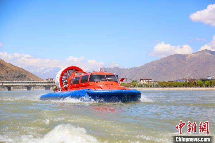 西藏拉萨举行2020年城市超标准洪水防御综合演练