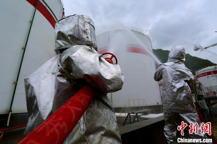 贵州安顺举办危险化学品应急救援综合实战演练