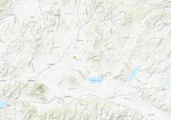 土耳其西部发生5.2级地震 震源深度10公里
