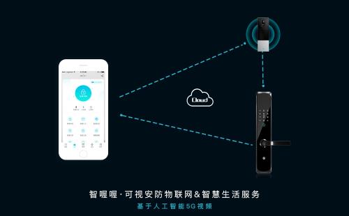 智喔喔智能门锁:解锁5G时代智能家居新生态