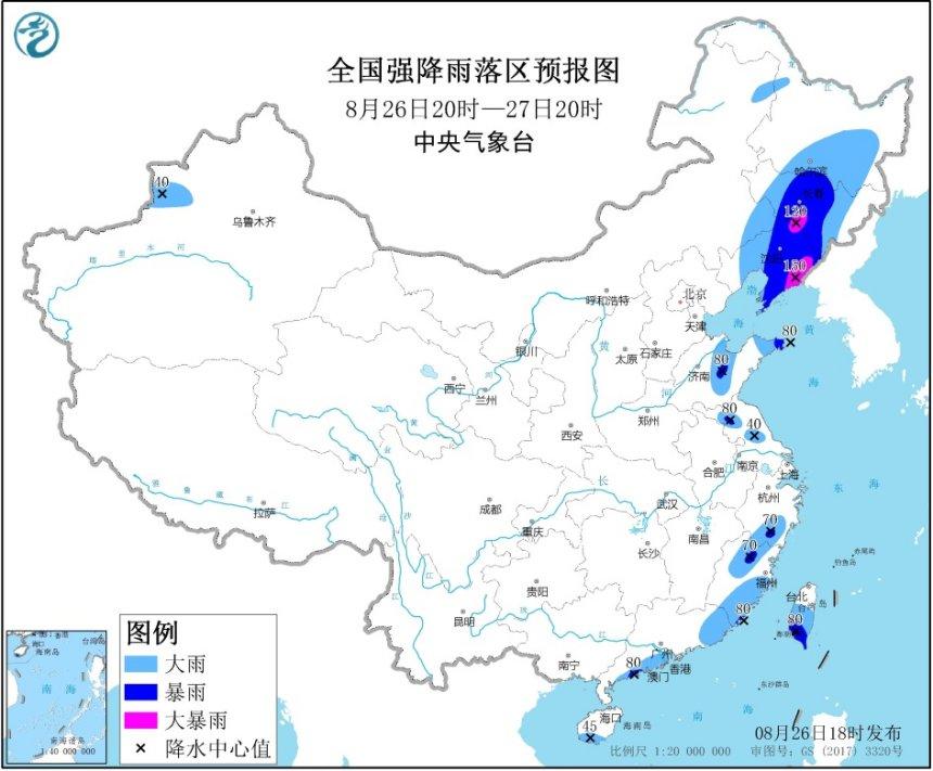 """台风""""巴威""""来袭 中央气象台发布暴雨黄色预警"""
