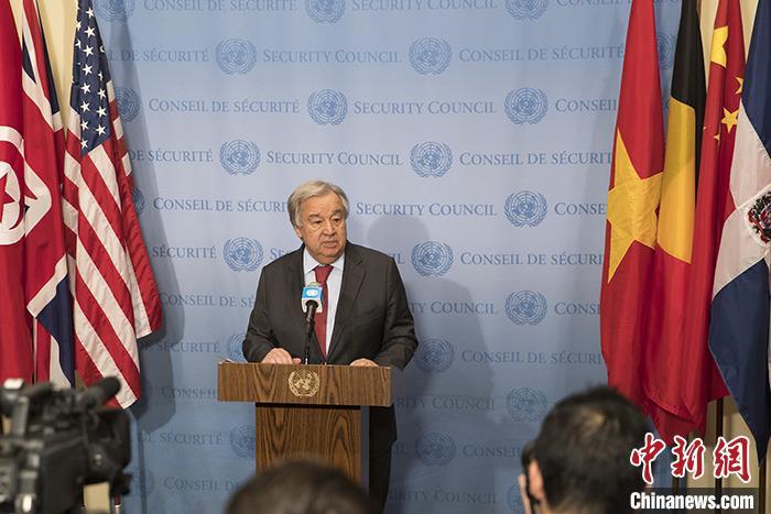 联合国秘书长:新冠肺炎大流行正在影响国际和平与安全