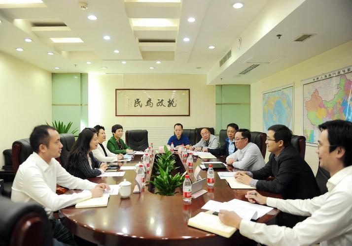 蒋平同志拜访财政部重庆监管局一级巡视员(主持工作)赵英洪