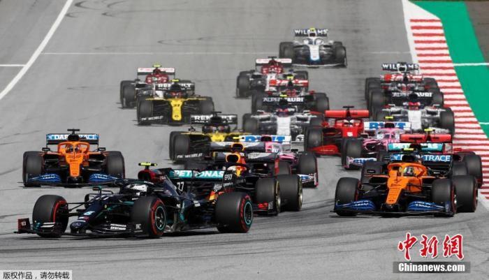 F1宣布3名赛事相关人员新冠病毒检测呈阳性