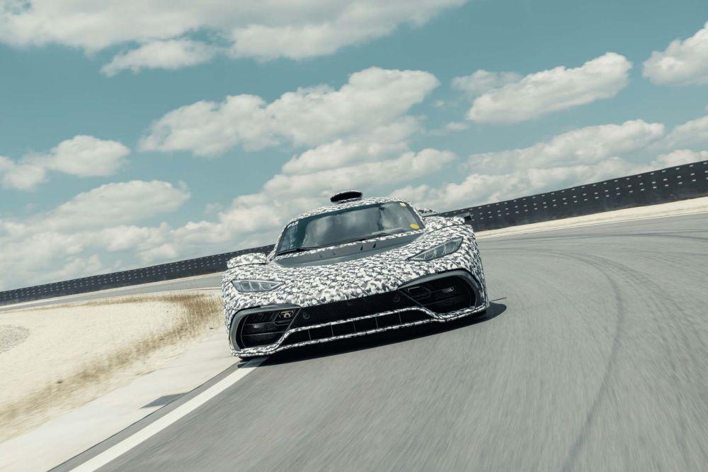 功率达1200马力 曝梅赛德斯-AMG顶级跑车动力