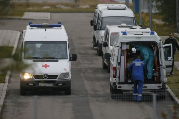 外媒:俄罗斯单日新增20582例新冠肺炎确诊病例