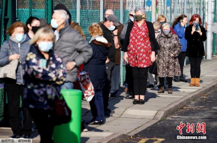 英国监狱新冠感染病例快速增长